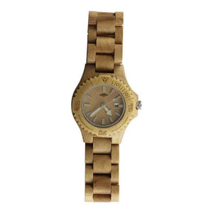 Angiewoodcreations Woman Wooden watch Not engraved Angie Wood Creations Maple Women's Watch With Maple Bracelet and Dial