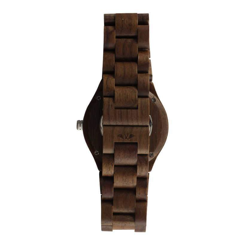 angiewoodcreations Woman Wooden watch Not engraved Angie Wood Creations Walnut Wood Women's Watch With Walnut Wood Bracelet