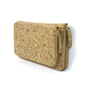 angiewoodcreations Cork Bag/ Wood bag/Wallet Women Wallet Angie colorful, cork wallet, cork products, cork fashion wallet,women wallet
