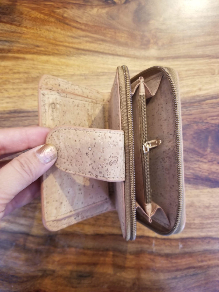 angiewoodcreations Cork Bag/ Wood bag/Wallet women wallet, cork wallet women, women wallet, wallet, women bag,women purse