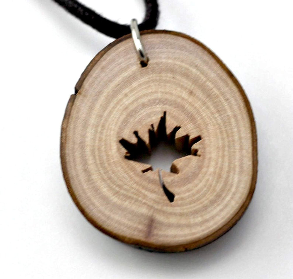Engrave wood necklace,Handcraft unique maple wood pendant,Engrave wood necklace,Wood pendant, Wood necklace for men,Women necklace,Wood