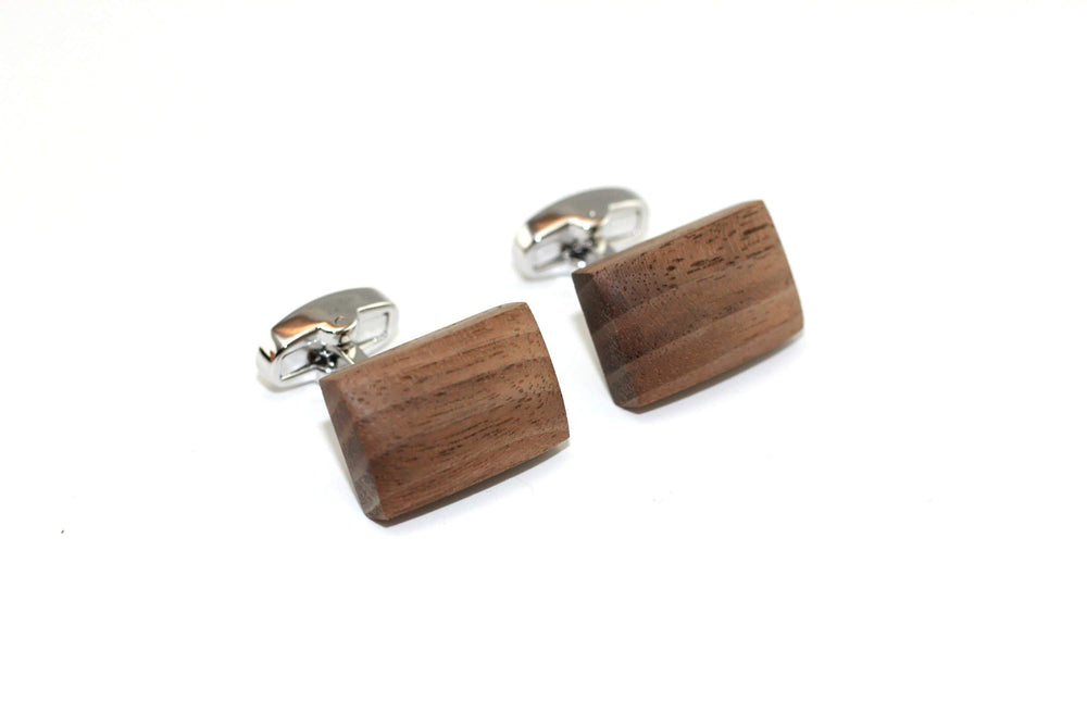 AngieWoodCreationsCo Cufflinks and Tie Clips Engraved cufflink,wood cufflink,men cufflink,cufflinks,Groommans cufflinks,Groommans gift,personalized cufflinks,Personalized wood cufflinks