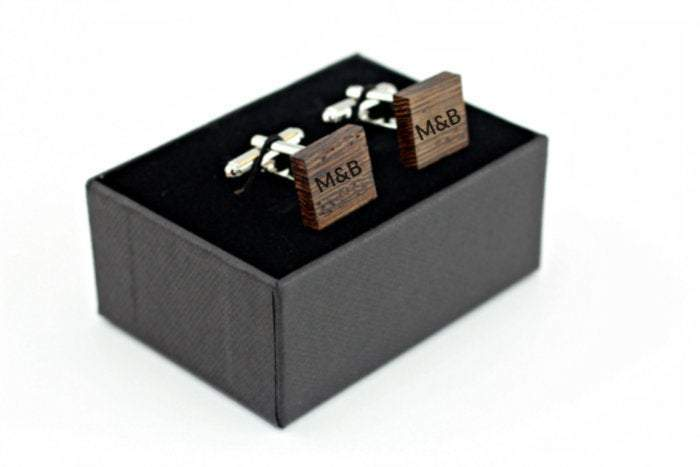 Engraved cufflink, wood cufflink, men cufflink,Cufflinks,Wooden Tie,Wooden cuff links,Cuff links,Wedding cufflinks,Groomsman Cufflinks cl013