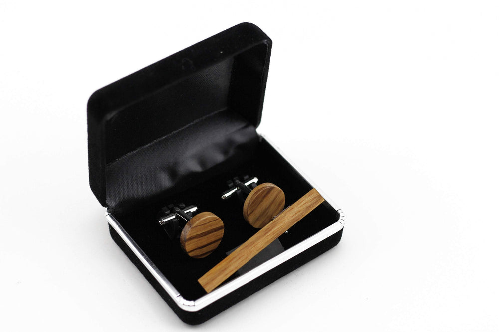 Engraved cufflink,wood cufflink,men cufflink,set cufflinks and tie clip,cufflink and tieclips,Men tie clip,Wood tie clip,Wood cufflink,sets