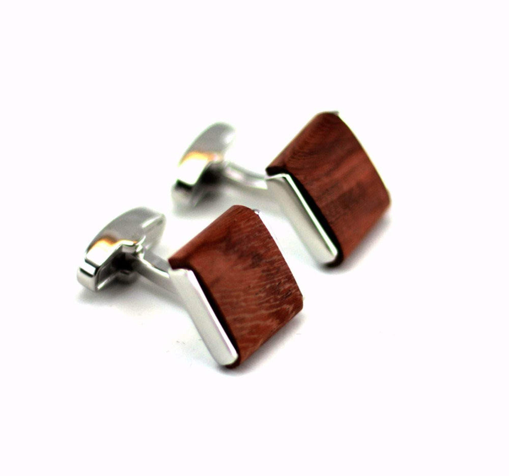 Engraved cufflink, wood cufflink, men cufflink,Wooden cufflinks (CL010)