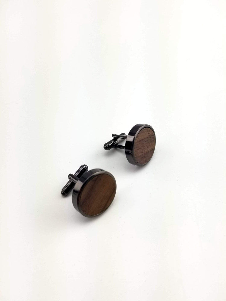 Engraved cufflink, wood cufflink, men cufflink,Wooden cufflinks,Wood,Groomsmen cufflinks,Grooms gift,Personalized cufflinks,Engraved (CL032)