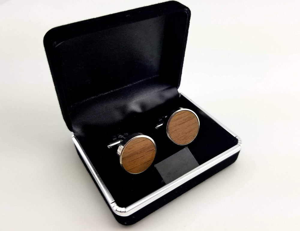Engraved cufflink, wood cufflink, men cufflink,Wooden cufflinks,Wood,Groomsmen cufflinks,Grooms gift,Personalized cufflinks,Engraved (CL034)