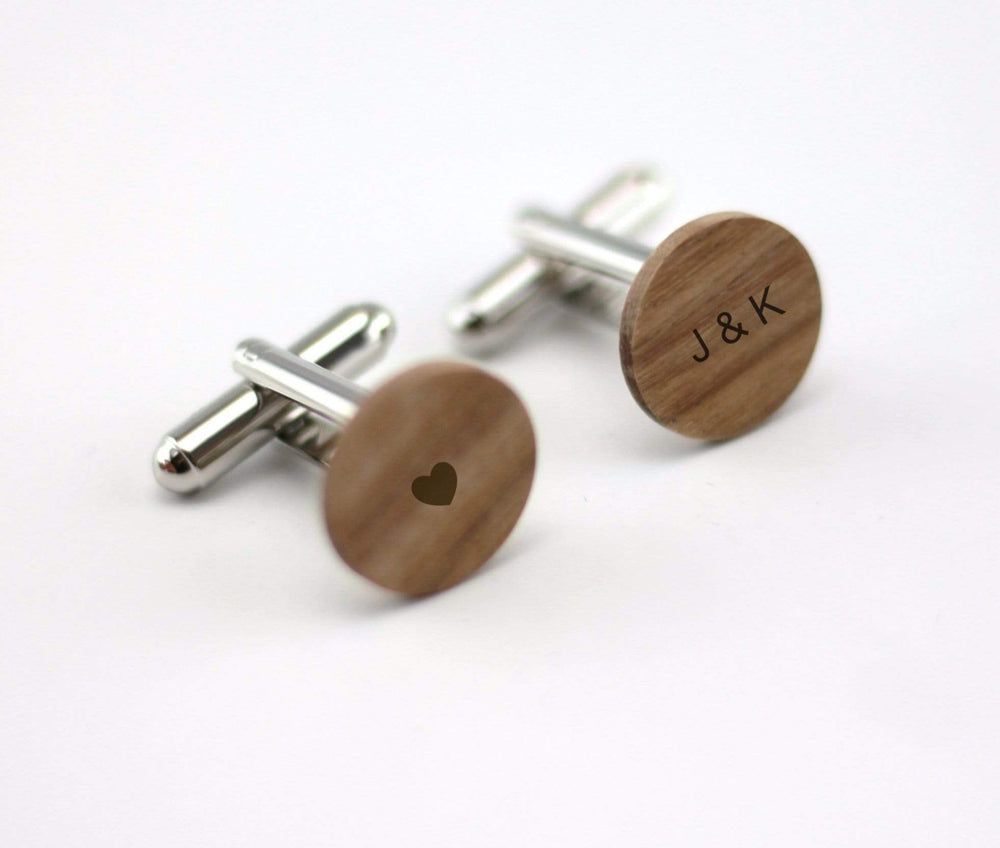 Engraved cufflink,wood cufflink, men cufflink,Wooden cufflinks,Wood,Groomsmen cufflinks,Grooms gift,Personalized cufflinks,Engraved giftc009
