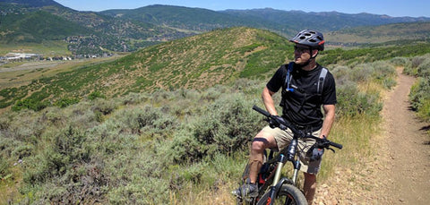 mountain biker welness utah