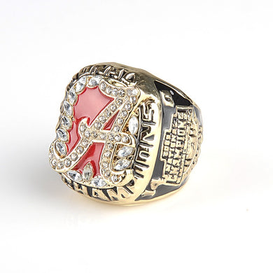 2009 Alabama Crimson Tide National College Championship Ring (Size 11)