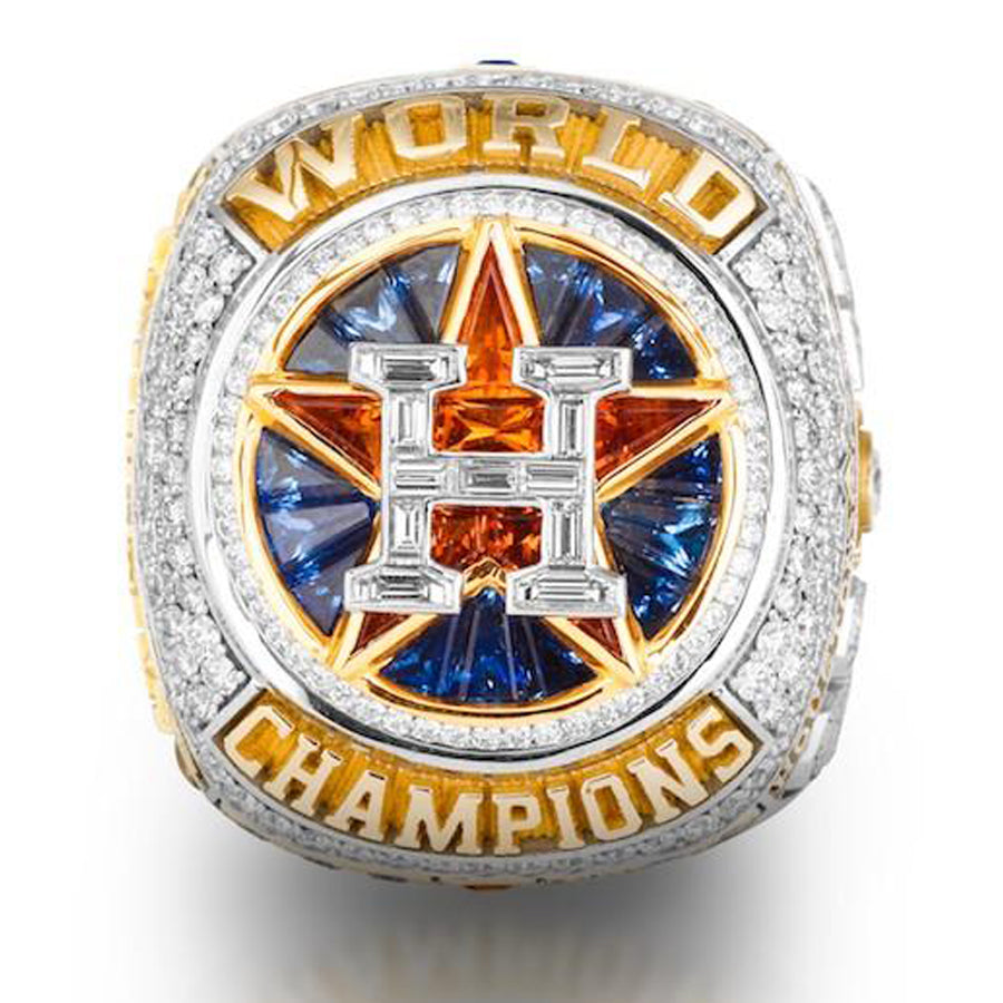 off Houston Astros 2017 Championship Ring - Official Version