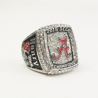 2015 Alabama Crimson Tide NCAA National Championship Ring