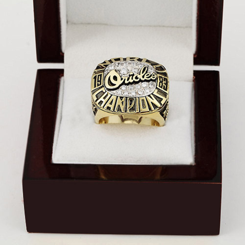 1983 Baltimore Orioles WS Championship Ring With Box