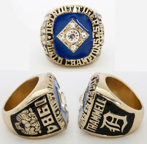 1984 Detroit Tigers World Series Championship Ring - Size 11