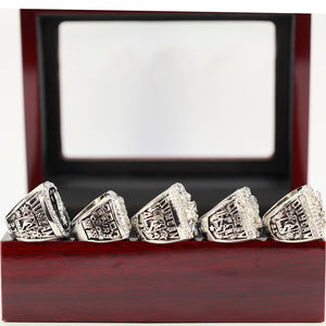 SAN ANTONIO SPURS 1999/2003/2005/2007/2014 5pcs RING SET - Size 11