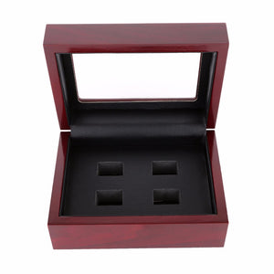 Elegant 4-Hole Ring Display Box