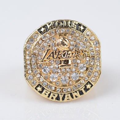 2016 MVP Black Mamba Bryant Los Angeles Lakers Championship Ring