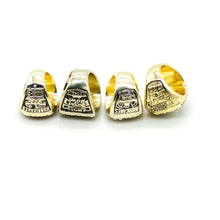Miami Hurricanes National Championship Set - 4 Pieces, 1983 1989 1991 2001 - Size 11