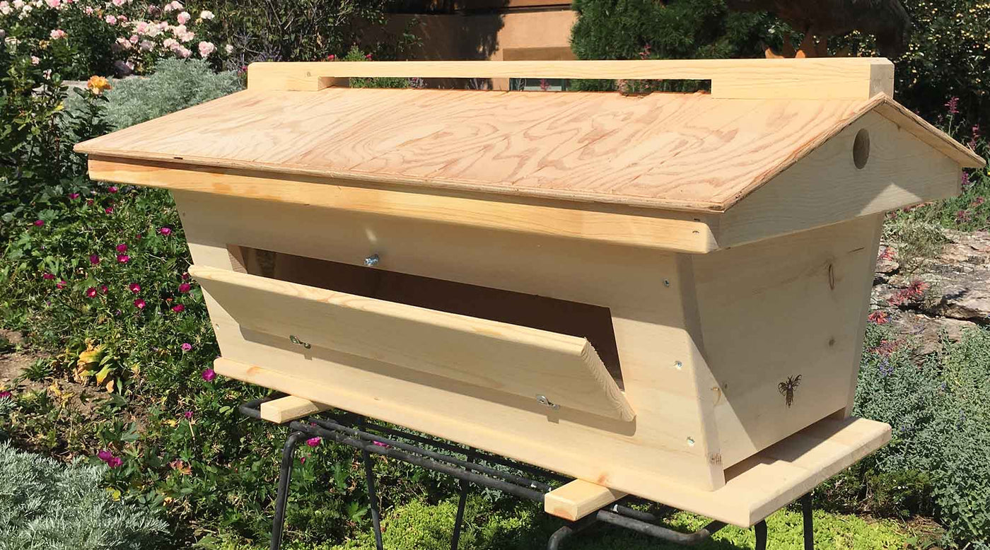 Should I Paint My New Bee Hive? Do I Need A Roof?