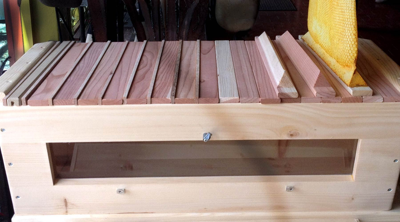 Using Spacers In The Top Bar Hive