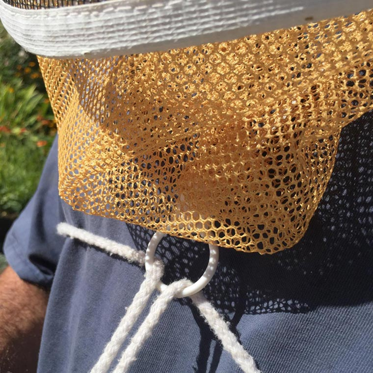 Beekeeping Helmet and Veil Protective Gear instructions