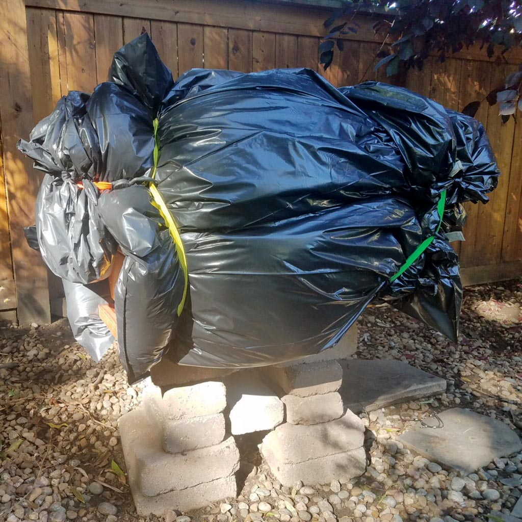insulated bee hive trash bags
