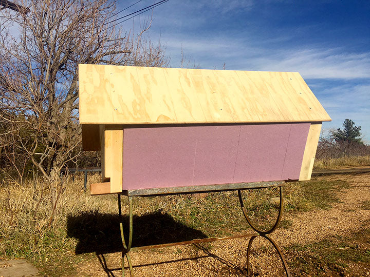 The-Cathedral-Hive-pink-insulation-board-foam