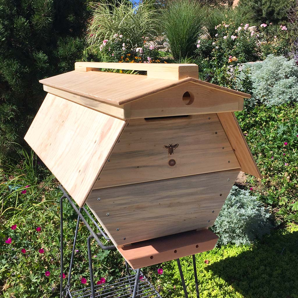 The Cathedral Hive hexagonal Top Bar Hive