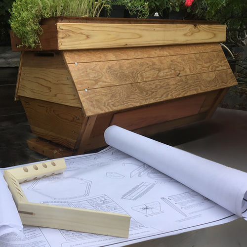 the cathedral hive bee hive plans