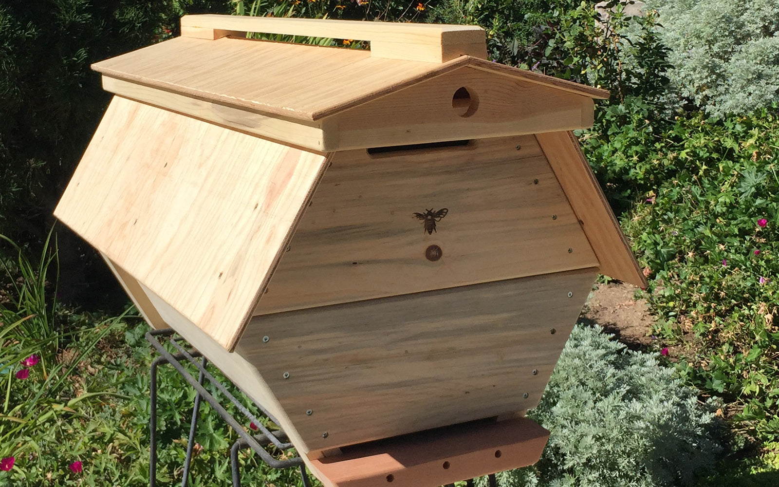 The Cathedral Hive fully assembled bee hive