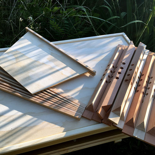 Bee Hive accessories and supplies beeswax, top bars, spacers, falseback