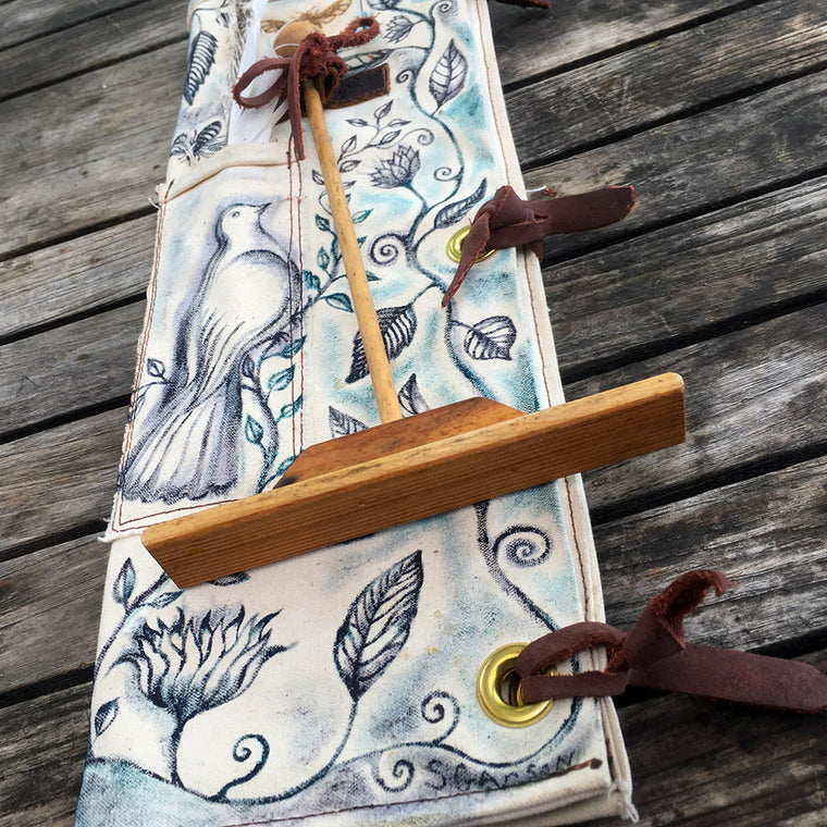 Bee Guardian Hive Tool quiver colored canvas