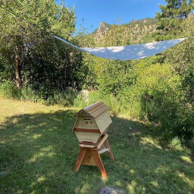 BackYardHive Bee Hive Sun Shade