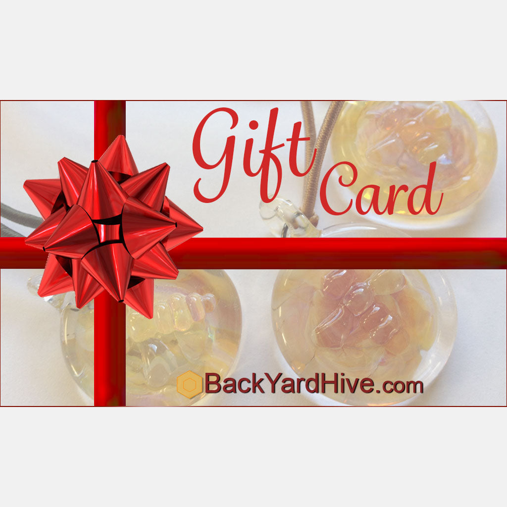 BackYardHive Gift Certificate Beekeeping Supplies