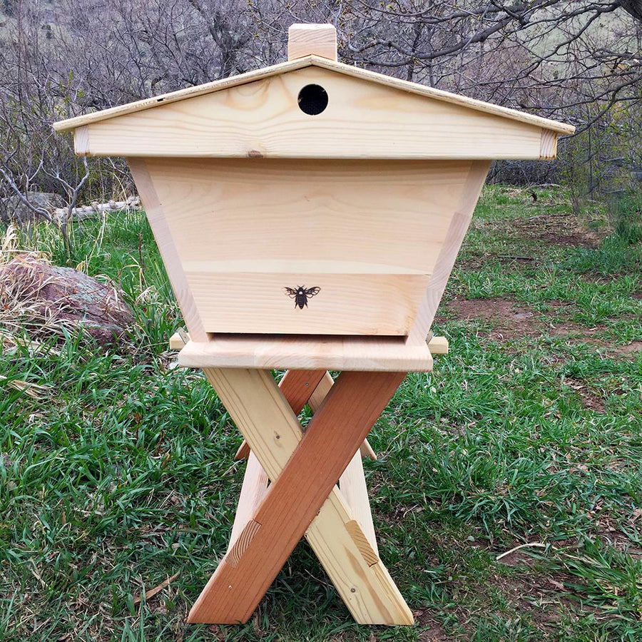 Hive Stand Designs : The cathedral hive fully assembled backyardhive