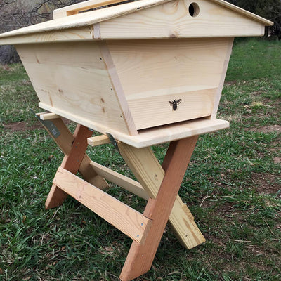 Beehive Stand - Golden Mean Hive side