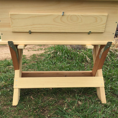 Beehive Stand - Golden Mean Hive wood