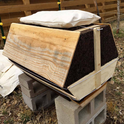 Beehive Insulation Cork Kit - Cathedral Northern Lights Hive®
