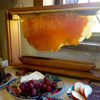 Glass_Honey_Comb_Holder_Serving_Tray_Buffet_2