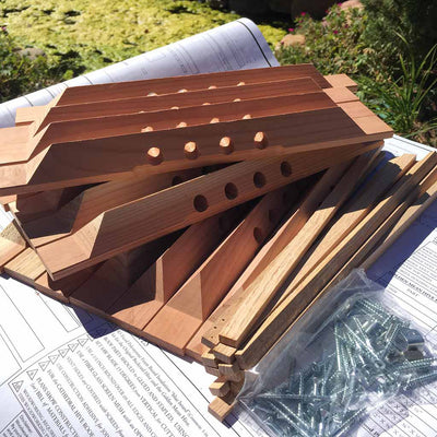 Bee Hive Plans - Golden Mean Top Bar Hive