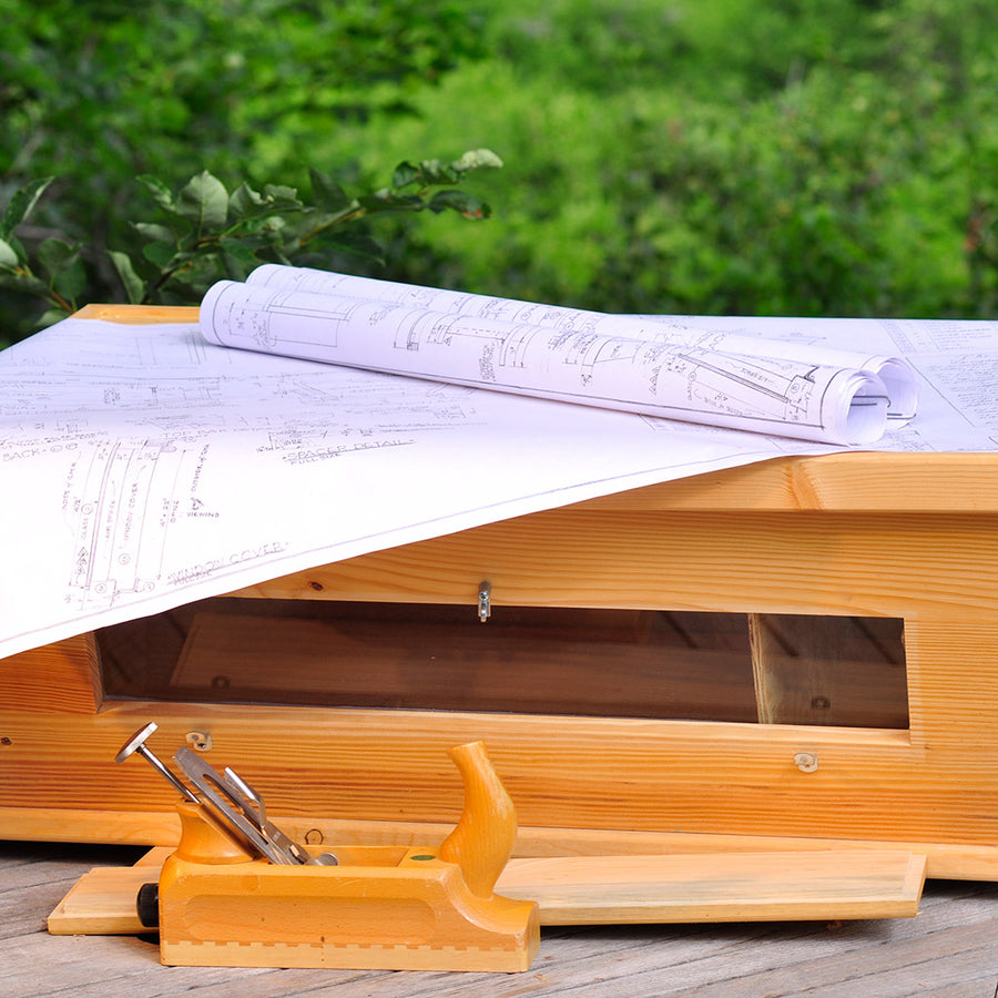 Bee Hive Plans   Golden Mean Top Bar Hive