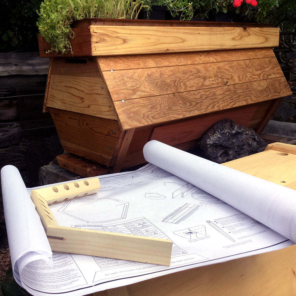 Bee Hive Plans -The Cathedral Hive® - Nominal Wood