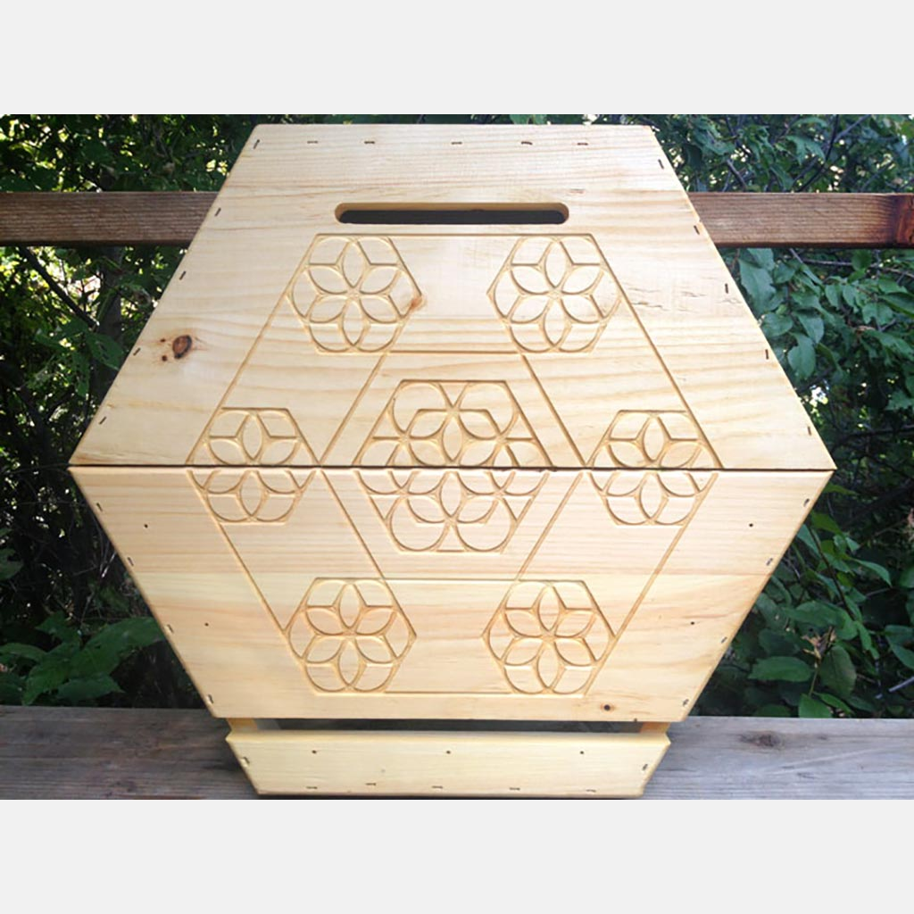 The Cathedral Hive® - Engraved Front