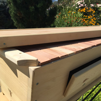 BackYardHive Original Top Bar Hive lid