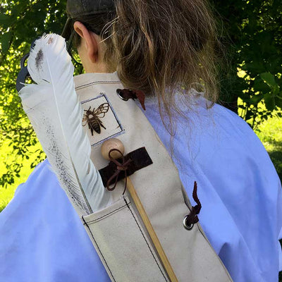 Bee Guardian Hive Tool Quiver girl
