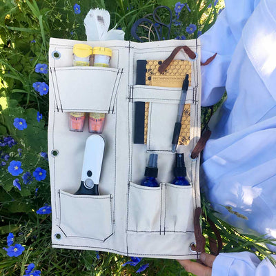 Bee Guardian Hive Tool Quiver fully loaded