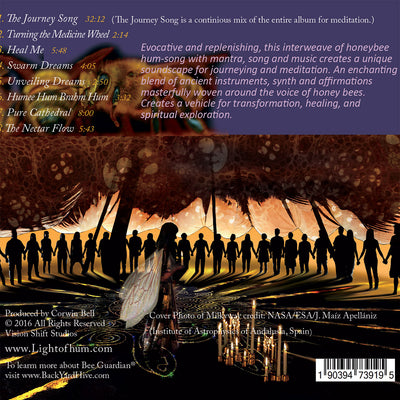 The Light of Hum - Voice of the Honeybees CD Cover