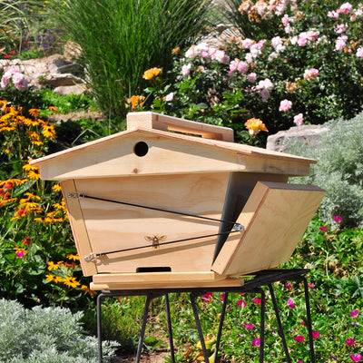 BackYardHive Original Top Bar Hive ventilated roof and insualtin panels
