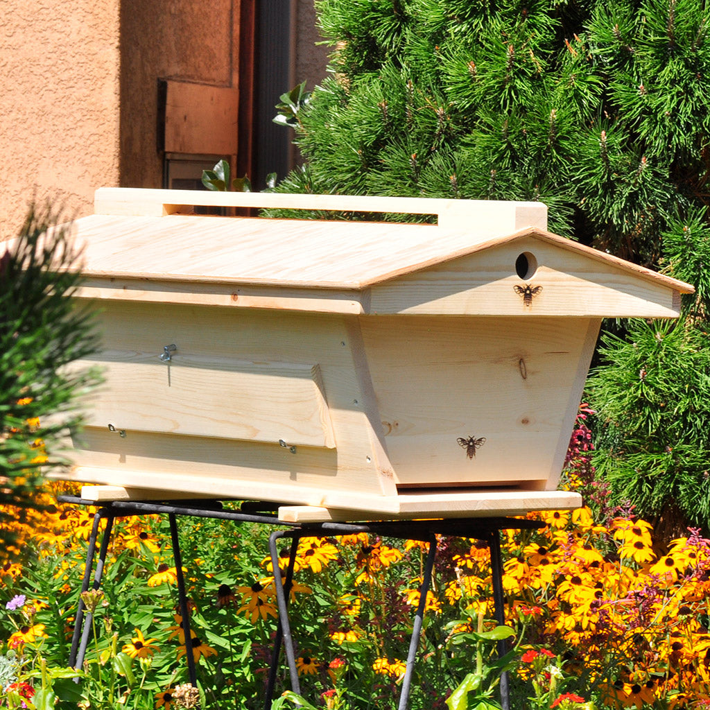 Ventilated Roof Top Bar Hive Original Backyardhive.  Ventilatedroof_topbarhive_ends. Ventilatedroof_topbarhive_inside