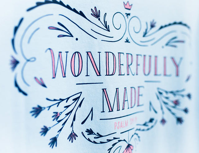 Wonderfully Made T-shirts